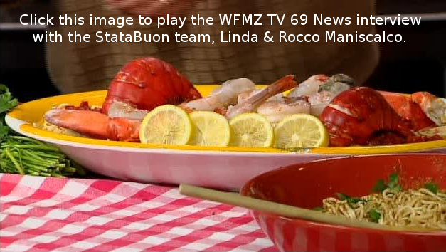 Linda Maniscalco Feast of Seven Fishes StataBuon WFMZ Allentown